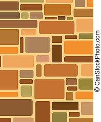 pattern stone wall