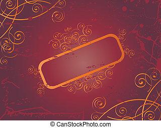 Pattern swirl banner