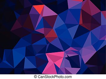 pattern, triangles background, polygonal