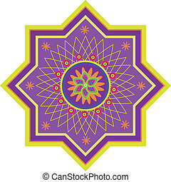 Pattern - Stock Vector Illustration: Islamic pattern