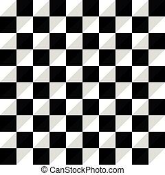 Pattern Vector Seamless Polygon Triangle black white