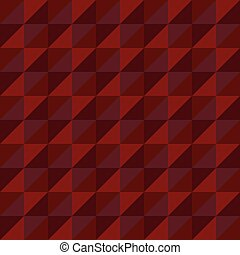 Pattern Vector Seamless Polygon Triangle red