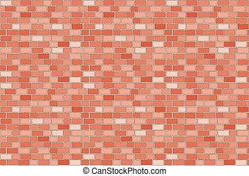 Pattern wall brick seamless red