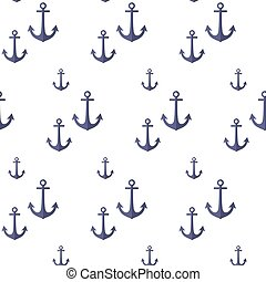 Pattern with anchors.