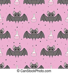 pattern with bat