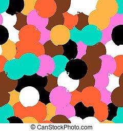 Pattern with big circles