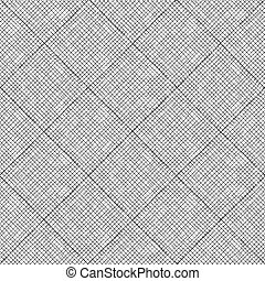 pattern with black outline on white background