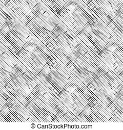 pattern with black shapes on white background