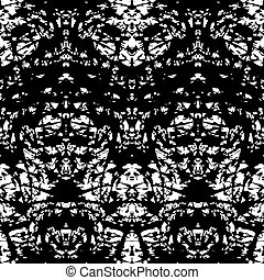 Pattern with brushed thin lines in black and white -...
