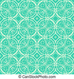 Seamless vector pattern with decorative shapes in organic brown colors, in art deco style. Texture for web, print, wallpaper, home decor, summer fall fashion textile or fabric, website background