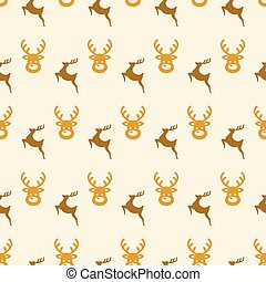 pattern with deers
