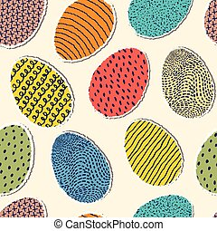 pattern with eggs
