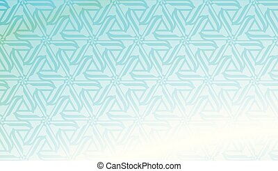 Pattern with geometric shape background. Vector illustration. Template for wallpaper, interior design, decoration, scrapbooking page. Gradient color