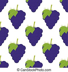 pattern with grapes
