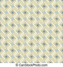 Pattern with grayscale dots in retro style
