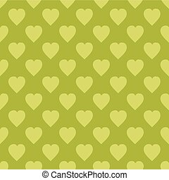 Pattern with hearts. Flat Scandinavian style for print on...
