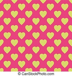 Pattern with hearts. Flat Scandinavian style for print on ...