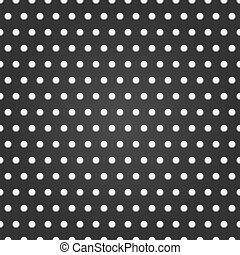 Pattern with holes. Vector background illustration.