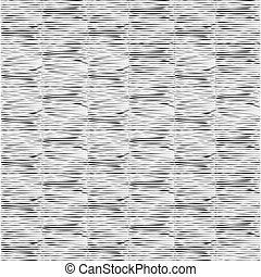 pattern with horizontal black lines on white background