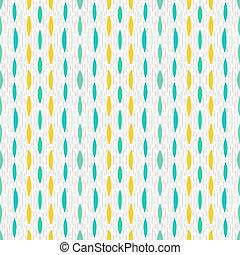 Pattern with short brushstrokes of random size - Multicolor...