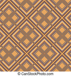 Pattern with squares colored