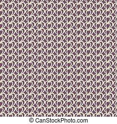 Pattern with stylized heart.