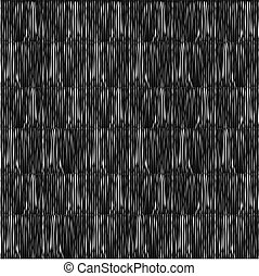 pattern with vertical white lines on black background