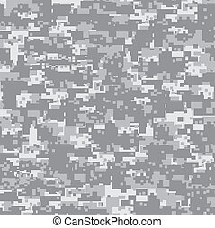 pattern., woestijn, camouflage, seamless