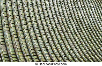 pattern2, Céramique, vert, toit