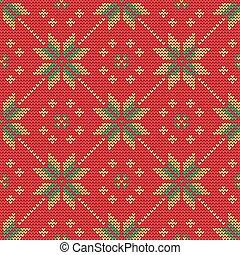 pattern9, trui, kerstmis