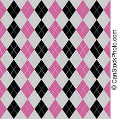 patterned baggrund, argyle