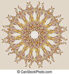 patterned, cirkel