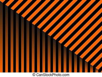 patterns., 集合, 万圣節, included., 圖案, 糖果, 黑色, 條紋, 瓦片, stripes., 矢量, 橙, lines., 水平, 白色, 現代, 樣片, 斜紋織物, 加上條紋的別針, backgrounds.