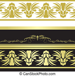 Patterns for decorative borders