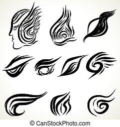 Patterns of tattoo art
