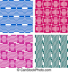 patterns., seamless, geometrico