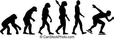 pattinaggio, evoluzione, velocità