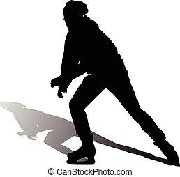 pattinaggio, ghiaccio