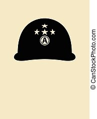 Patton Helmet
