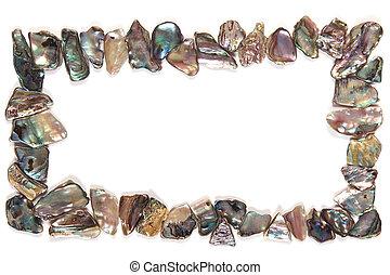 Paua Shell Frame