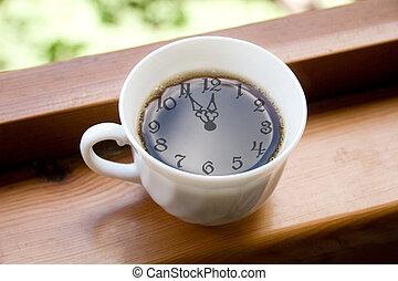 paus, kaffetid