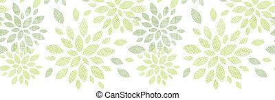 pauta tela, hojas, seamless, plano de fondo, textured,...