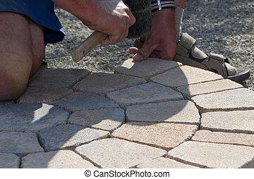 Pave Stone Circle
