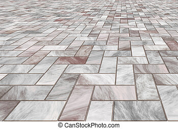 marble tiles on the floor - paved stone or marble tiles on...