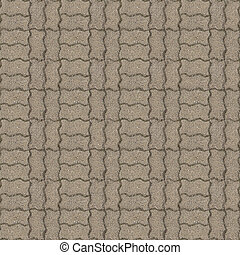 Pavement 1, seamless - Seamlessly tileable photo of pavement...