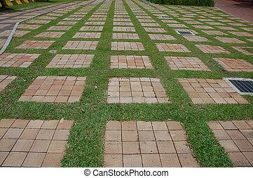 pavement 2 - pavement with pattern
