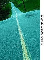 road - pavement road