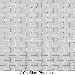 Seamless pavement pattern. 3D render.