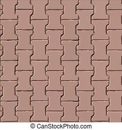 Pavement slabs vector texture