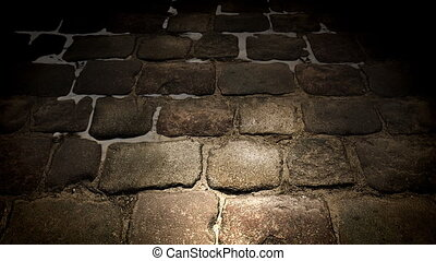 Pavement stone - Loop pavement stone scrolling